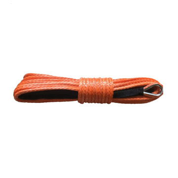 electric wire synthetic rope winch rope