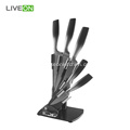5pcs Stainless Steel Kitchen Knife Set