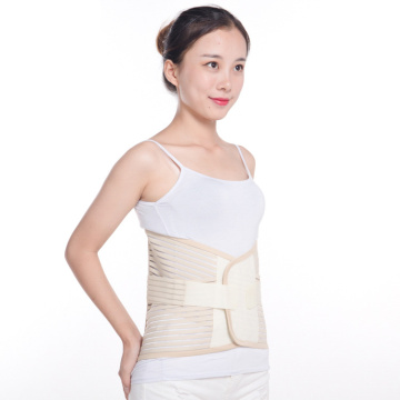 Widened and stretched elastic compression waist belt
