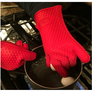 BPA free Silicone BBQ Oven Cooking Gloves
