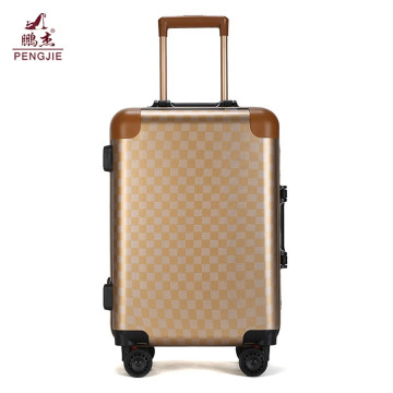 2 pieces set hard trolley ABS luggage