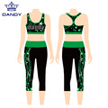 Sublimation cheer workouts outfits