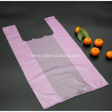 Pink Plastic Shopping Bag