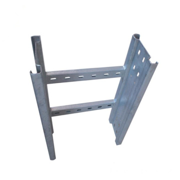 Hot dip galvanised steel preforated ladder cable tray