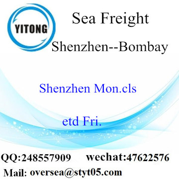 Shenzhen Port LCL Consolidation To Bombay