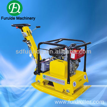 diesel engine reversible vibrating plate compactor with electric start