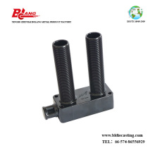 Threaded Pivot Housing of Aluminum
