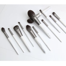 Bunch Flower Wooden Handle Makeup Brushes Sets