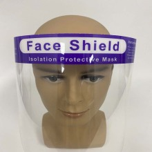 Máscara facial anti-fog PET