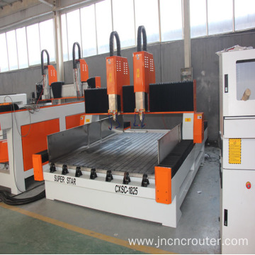 stone machine with waterjet cutter