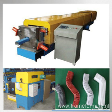 round gutter pipe roll forming machine