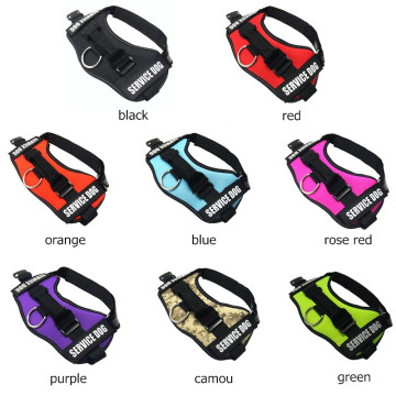 Reflective Rope Nylon Handle Adjustable Dog Harness