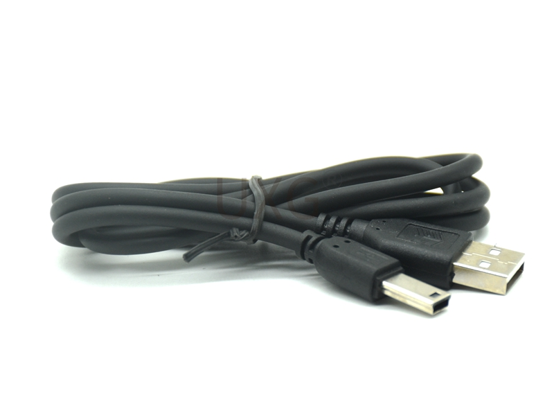 Extension plug 12mm Mini USB 2.0 A Male to Mini 5 Pin B Charge Data Cable Adapter For MP3 Mp4 Player Digital Camera phone 1m 3ft