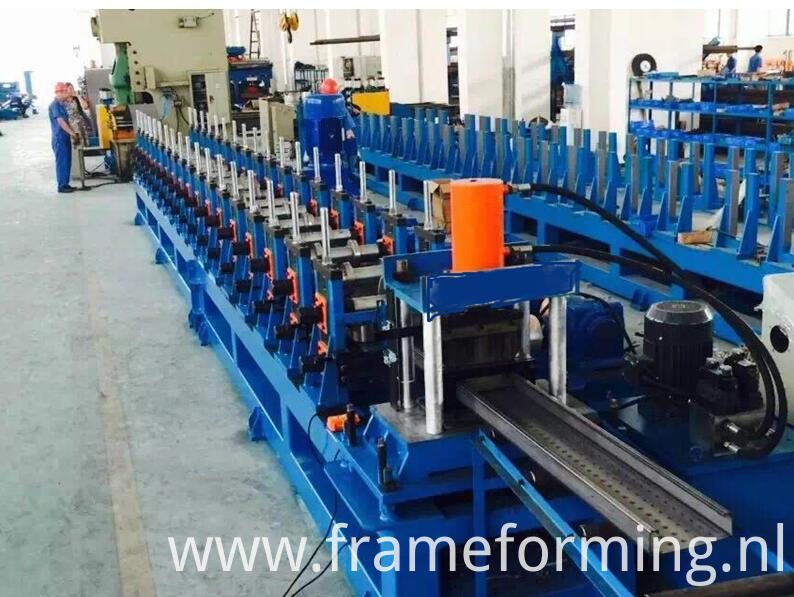 Scaffold Decking Machine