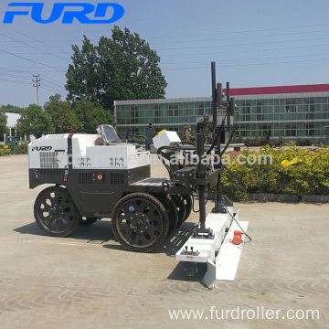 Mini Laser Screed for Concrete Floor with Elastic Tire Wheel (FJZP-200)