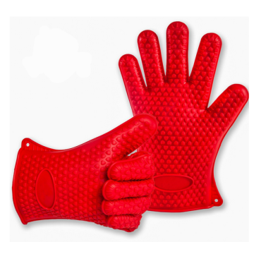 2015 High Quality Heat Resistant Silicone grill gloves
