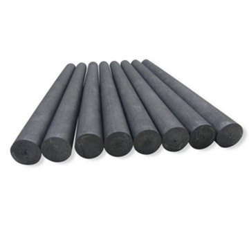 High-strength graphite rod processing