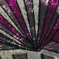 Fancy Best Selling Multicolor Sequin Embroidery Fabric