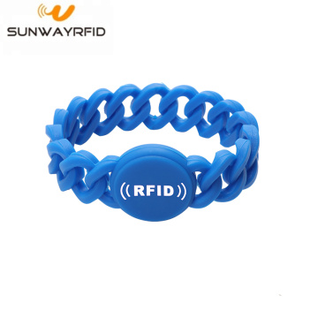 Passive Sport Bracelet Rfid Silicone Wristband