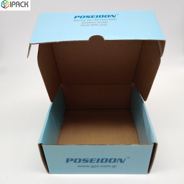 Custom Color Printed Corrugated Box For Electronics Products