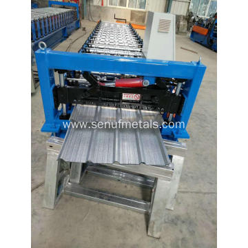 Metal sheet IBR roof roll forming machine