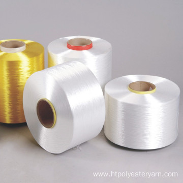 Adhesive Activated Low Shrinkage Polyester Yarn