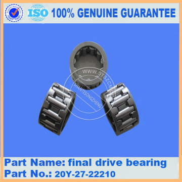Komatsu spare parts PC200-7 final drive bearing 20Y-27-22210 for final drive parts