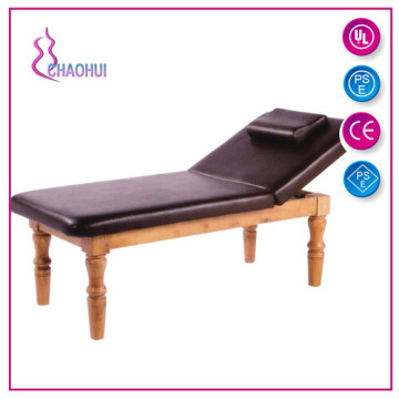 Facial Couch Massage Bed With Wood