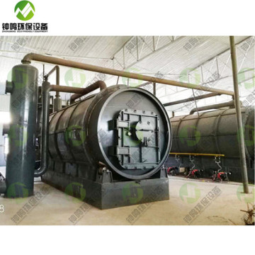 What is Process of Tyre Pyrolysis Plant Cost in India