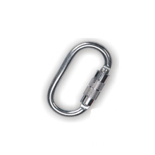 Rock Climbing Carabiner with Swivel Snap Hook