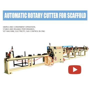 Scaffold Vertical Pole Automatic Cutting Machine