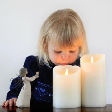 Battery Powered Flameless Candles LED kaars