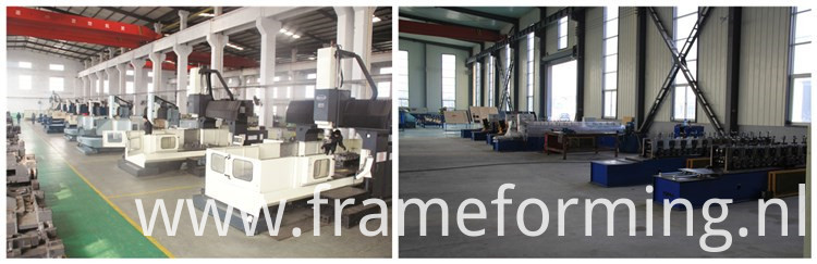 shape steel keel roll forming machine