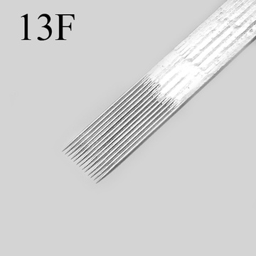 Curved Flat Shaders Tattoo Needles