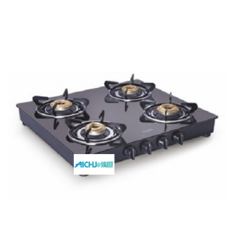 Glen Four Burners Black LPG Stove