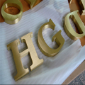 Custom Made Brass Alphabet Letters and Numbers