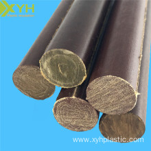 Brown Phenolic Cotton Cloth Pertinax Rod