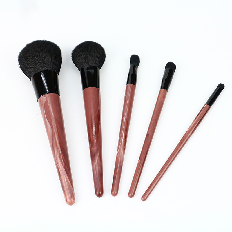 Marble Handle Professional Makeup Brushes