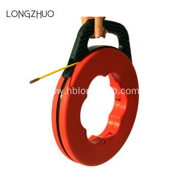 Fiberglass Fish Tape Reel Puller Conduit Ducting Rodder