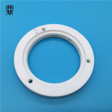 machinable mica macor ceramic insulating flange