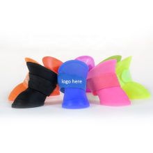 Dog Boots Reusable Silicone Pet Shoes