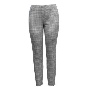 Ladies Pants  Knit Trousers Printed Suade