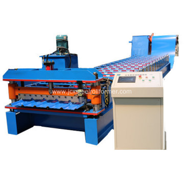 Galvanized Metal Roof Panel Machine