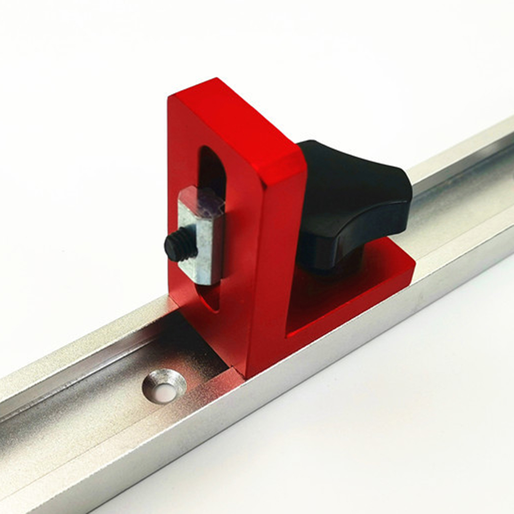 Woodworking 30 Type T-tracks Chute Backing Connector Rail Chute Connector Suitable For Woodworking T-Groove T-Track