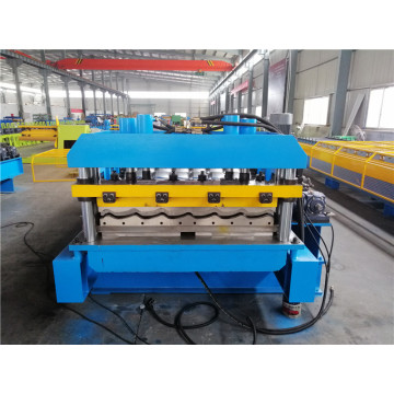 Glazed roof tile forming machine with good quality