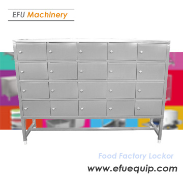 Stainless steel Food Factory Locker Cabinet