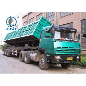 Three Axle Side Dump Semitrailer
