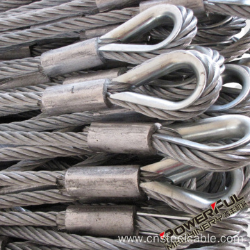 AISI304 Stainless steel wire rope Assemblies