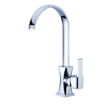Quality faucet brass kitchen sink mixer tap swivel