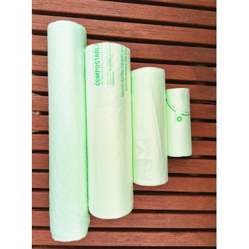 Biodegradable Compostable Plastic Trash Bag On Roll